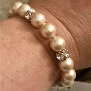 Kate Spade Faux Pearl Lady Marmalade Bracelet